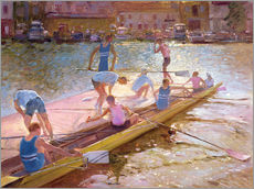 Wall sticker  When rowing - Timothy Easton