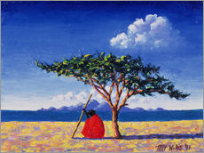 Gallery print  Under the acacia tree, 1991 - Tilly Willis