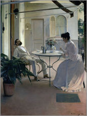 Wall sticker  Furniture on the terrace - Ramon Casas i Carbo
