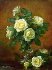 Wall Stickers  Yellow Roses - Albert Williams