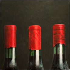 Gallery print  Three wines, 2010 - Lincoln Seligman
