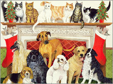 Gallery print  Dogs and Cats - Pat Scott