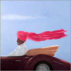 Gallery Print  Maharajah at Speed - Lincoln Seligman