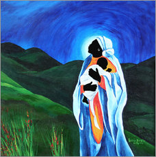 Gallery print  Madonna and Child - Hope for the World, 2008 - Patricia Brintle