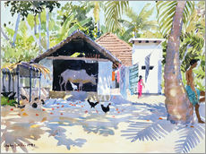Gallery print  The Backwaters, Kerala - Lucy Willis