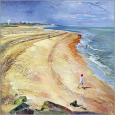 Wall Sticker  Beach of Southwold - Timothy Easton