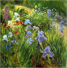 Wall sticker  Flower bed - Timothy Easton