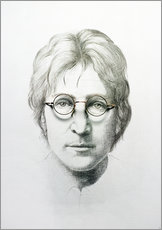 Wall sticker  Lennon - Trevor Neal