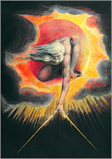 Gallery print  The Ancient of Days - William Blake