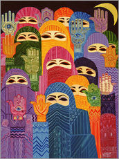 Gallery print  The Hands of Fatima, 1989 - Laila Shawa