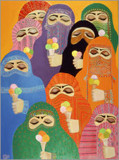 Gallery print  The Impossible Dream, 1988 - Laila Shawa