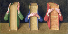 Gallery print  Three Wise Books, 2005 - Jonathan Wolstenholme