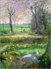 Wall Sticker  Spring Walk - Timothy Easton