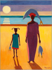 Gallery Print  Woman with Fish - Tilly Willis