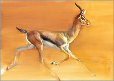 Wall sticker Trotting Gazelle