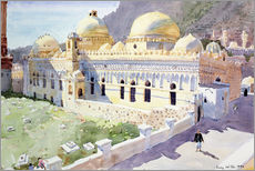 Wall sticker  Mosque, Taiz, Yemen - Lucy Willis