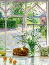 Gallery print  Sleeping Cat in the Window - Timothy Easton