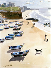 Wall sticker  Boats on the Beach - Lucy Willis
