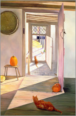 Wall Sticker  Cats in the house - Timothy Easton