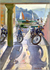 Wall sticker  Wheels and Sails - Timothy Easton