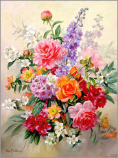 Gallery print  A High Summer Bouquet - Albert Williams