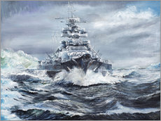 Gallery print  Bismarck off the Greenland coast - Vincent Alexander Booth