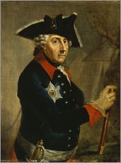 Gallery print  Frederick the Great of Prussia - Anton Graff