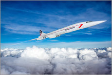 Wall sticker  Concorde Supersonic - Paul Heasman
