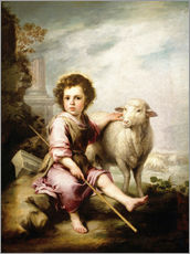 Wall sticker  The Good Shepherd - Bartolome Esteban Murillo