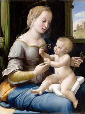 Wall Sticker  Madonna and child - Raffael