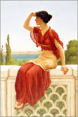 Wall sticker  The Signal - John William Godward