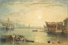 Wall Stickers  Teignmouth, Devonshire - Joseph Mallord William Turner