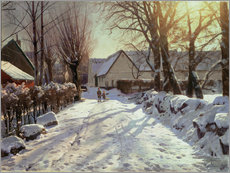Gallery print  The way home, 1923 - Peder Mørk Mønsted