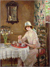 Wall Stickers  Afternoon tea - William Henry Margetson