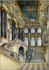 Gallery print  Staircase of the winter palace - Konstantin Andreyevich Ukhtomsky