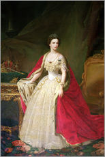 Wall Stickers  Empress Elizabeth of Bavaria - Giuseppe Sogni