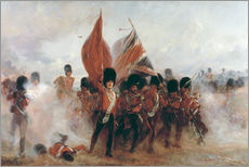 Gallery print  The Colours: advance of the Scots Guards at the Alma - Lady Butler