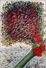 Gallery print  The Red Tree - Seraphine Louis