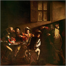 Gallery print  The Calling of St. Matthew - Michelangelo Merisi (Caravaggio)