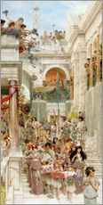 Wall sticker  Spring - Lawrence Alma-Tadema