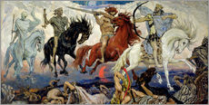 Victor Mikhailovich Vasnetsov - The Four Horsemen of the Apocalypse