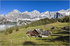 Gallery print  Alm in the Alps - Gerhard Wild