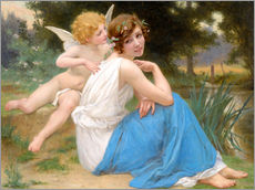 Wall sticker  Cupid and Psyche - Guillaume Seignac