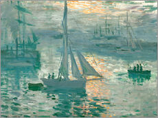 Wall sticker  Sunrise - Claude Monet