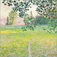Gallery Print  Morning Landscape - Claude Monet
