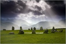 Wall sticker Castlerigg Stone Circle in England