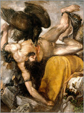 Wall Stickers  Prometheus - Tiziano Vecellio