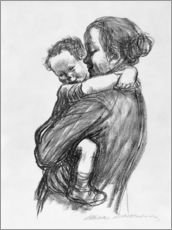 Gallery print  Mother and child - Käthe Kollwitz