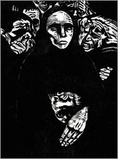 Wall sticker  The people (the war) - Käthe Kollwitz