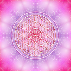 Wall Stickers Flower of Life - Unconditional Love